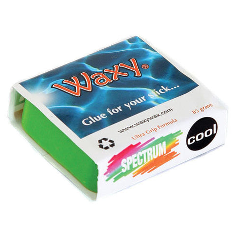 Waxy Wax - Coloured Surf Wax - Tropic/Base - The Mysto Spot  - 6