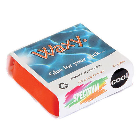 Waxy Wax - Coloured Surf Wax - Tropic/Base - The Mysto Spot  - 8