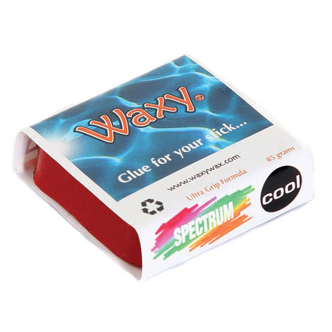Waxy Wax - Coloured Surf Wax - Tropic/Base - The Mysto Spot  - 10