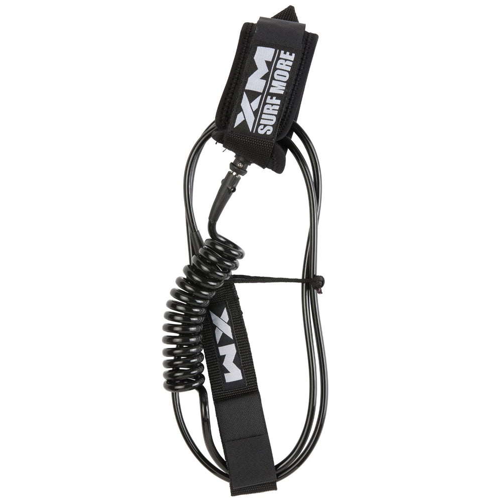 Surf More XM - Surf More XM - Hybrid SUP Coil Leash ~ Regular - Products - The Mysto Spot
