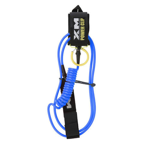 Surf More XM - Surf More XM - Power Clip Hybrid SUP Coil Leash ~ Regular - Products - The Mysto Spot