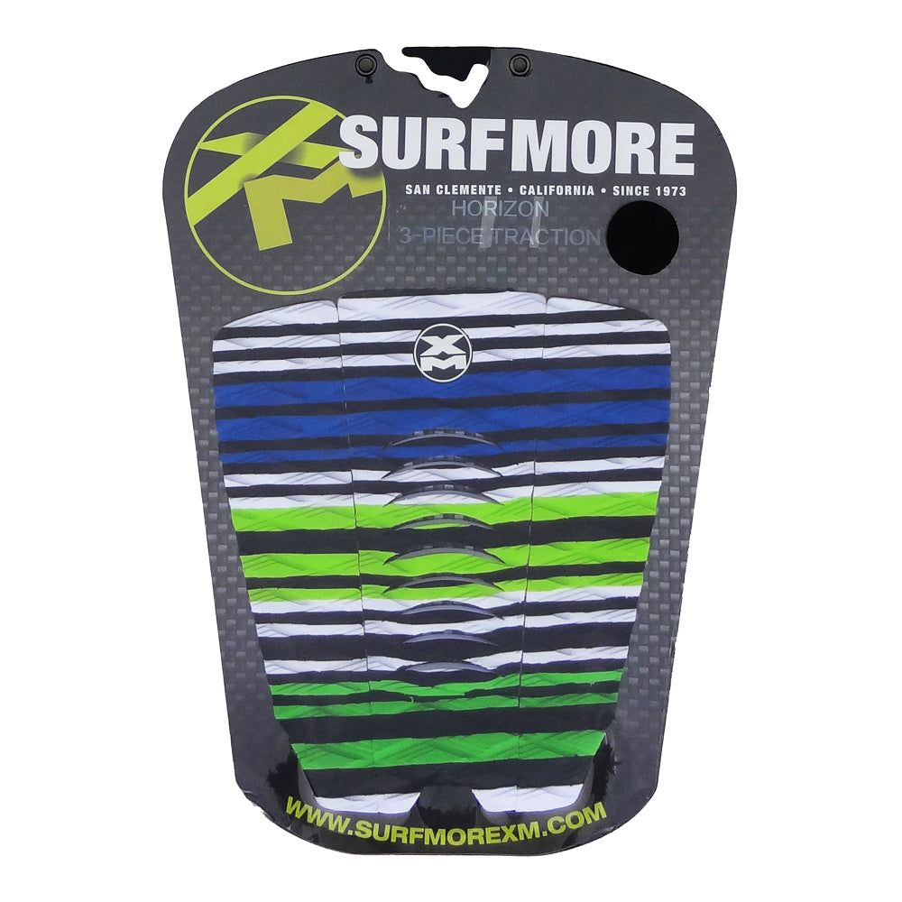 Surf More XM - Surf More XM - Horizon Tailpad - Black/White/Blue/Green - Products - The Mysto Spot