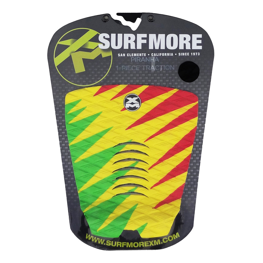 Surf More XM - Surf More XM - Piranha Tailpad - Rasta - Products - The Mysto Spot