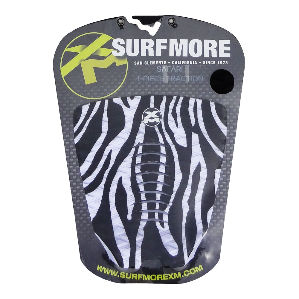 Surf More XM - Surf More XM - Safari Tailpad - Black & White - Products - The Mysto Spot