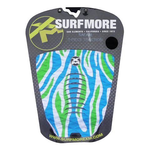 Surf More XM - Surf More XM - Safari Tailpad - White/Blue/Green - Products - The Mysto Spot