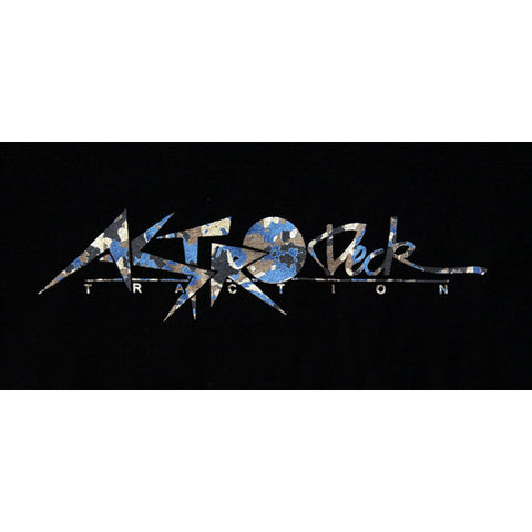 Astrodeck - Astrodeck T-Shirt - Astro Logo - Black Camo - Products - The Mysto Spot