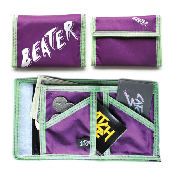 Catch Surf - Catch Surf - Beater Wallet - Purple - Products - The Mysto Spot
