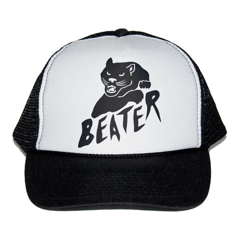 Catch Surf - Black Cat Trucker Cap ~ Black