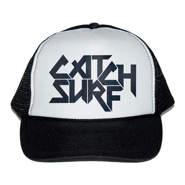 Catch Surf - Catch Surf - Logo Trucker Cap ~ Black - Products - The Mysto Spot
