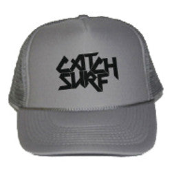 Catch Surf - Catch Surf - Logo Trucker Cap ~ Grey - Products - The Mysto Spot