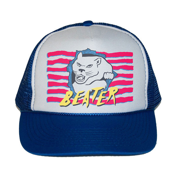 Catch Surf - Catch Surf - Johnny's Trucker Cap ~ Royal Blue - Products - The Mysto Spot