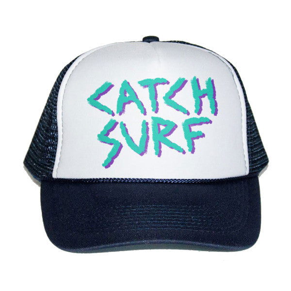 Catch Surf - Catch Surf - Los Lindos Trucker Cap ~ Navy - Products - The Mysto Spot