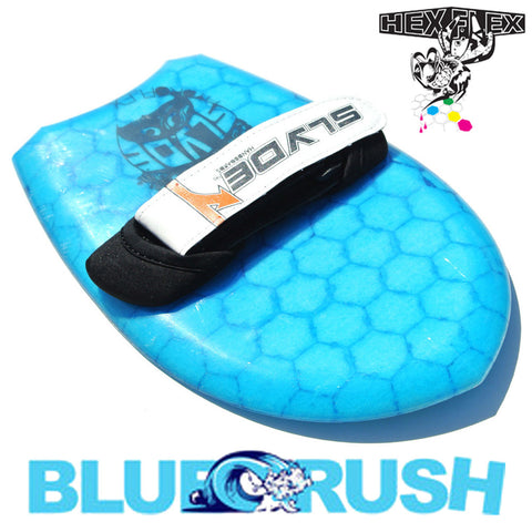 Slyde Handboards - HexFlex - Blue Crush