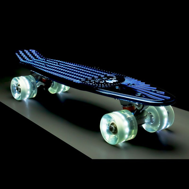 "Sunset Skateboards - Sunset Skateboards - 22"" Chrome - Blue - Products - The Mysto Spot"