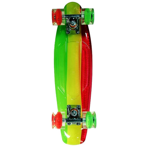 "Sunset Skateboards - Sunset Skateboards - 22"" Graphic - Rasta - Products - The Mysto Spot"