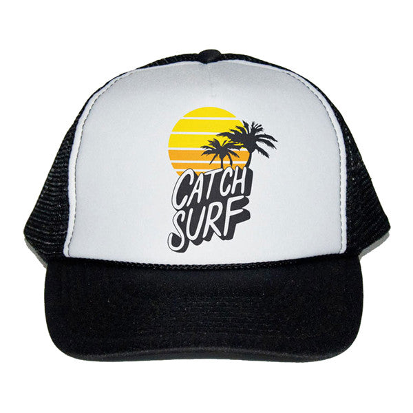 Catch Surf - Catch Surf - Sunset Trucker Cap ~ Black - Products - The Mysto Spot
