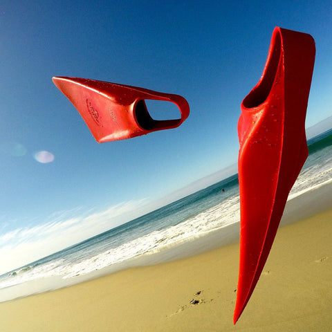 Catch Surf - Catch Surf - US Fin Co - Swim Fins - Red - Products - The Mysto Spot