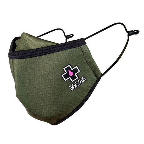 Muc-Off - Reusable Face Mask - Green