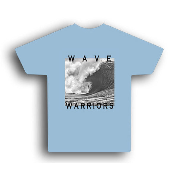 Astrodeck - Astrodeck T-Shirt - Wave Warriors - Back & Bad - Blue - Products - The Mysto Spot