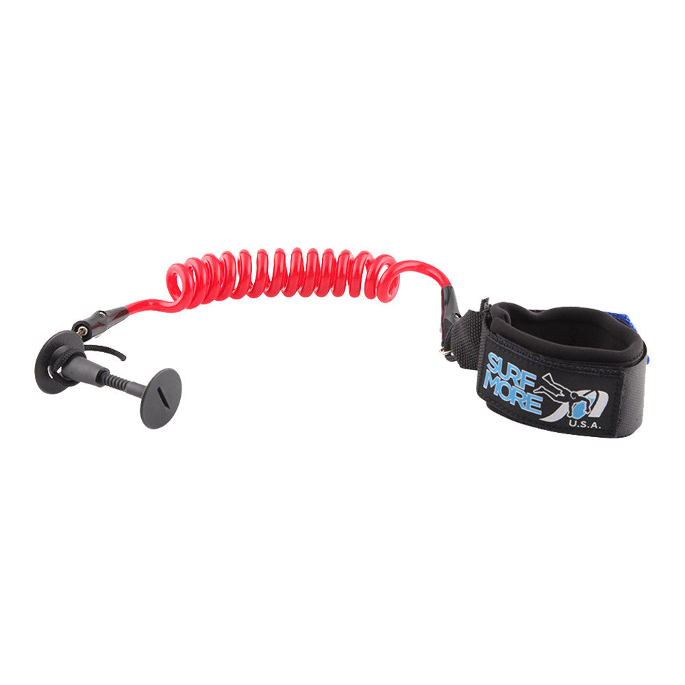 Surf More XM - Surf More XM - Bodyboard Hawaiian Pro Leash - Coil - Products - The Mysto Spot