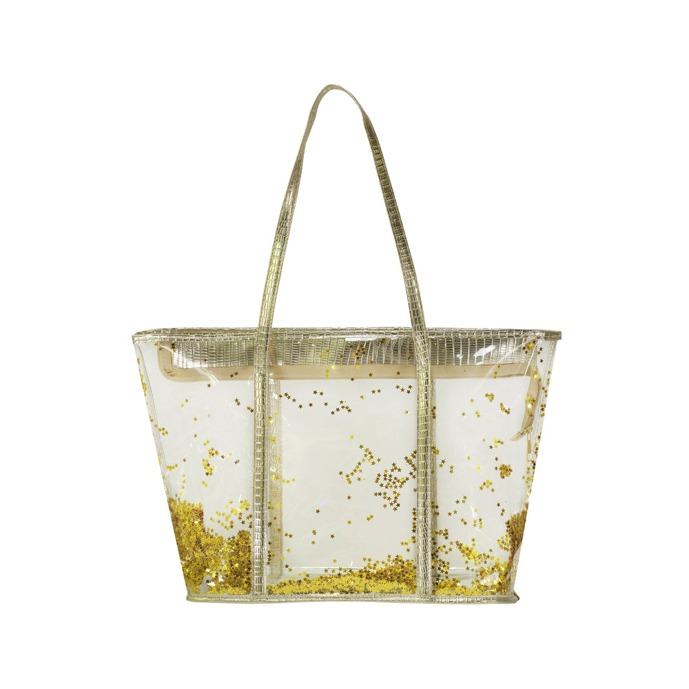 Confetti Beach Bags Bags Maniere Accessories Gold Stars