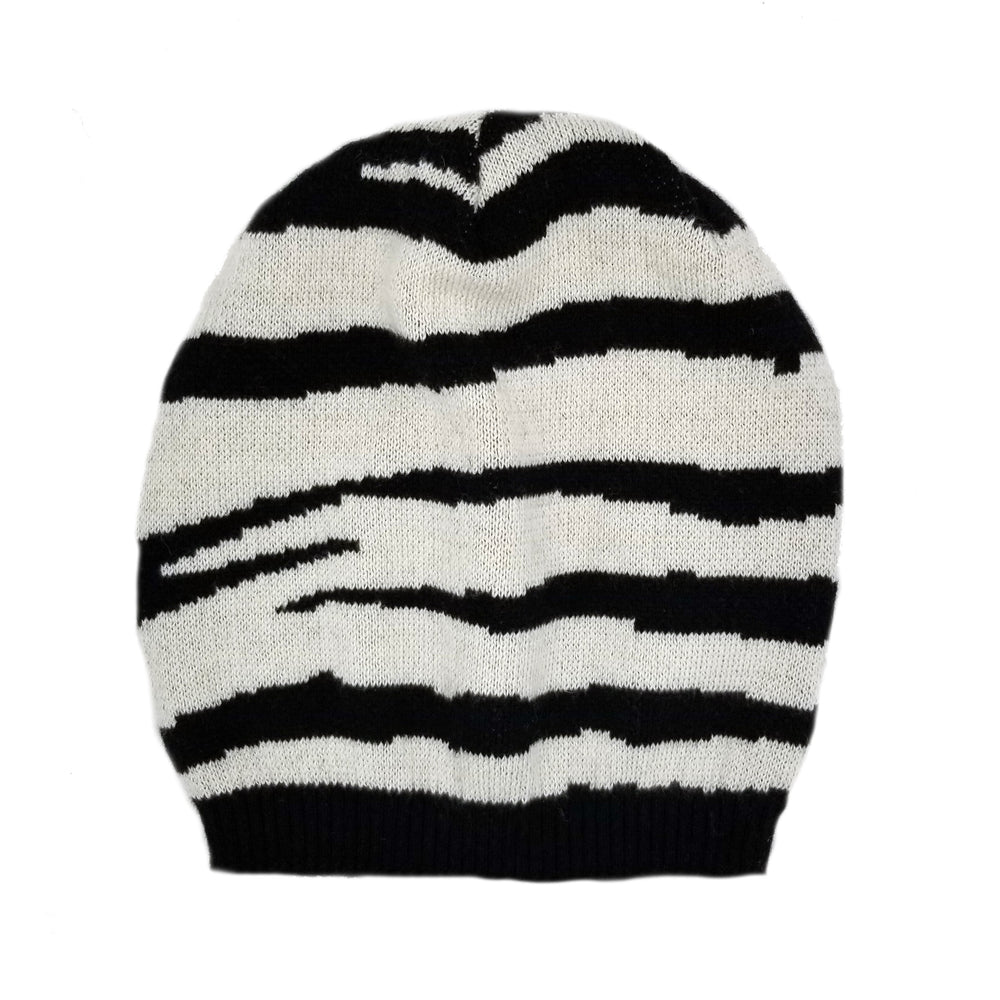 Tiger Pattern Wool Hat Winter Hat Manière