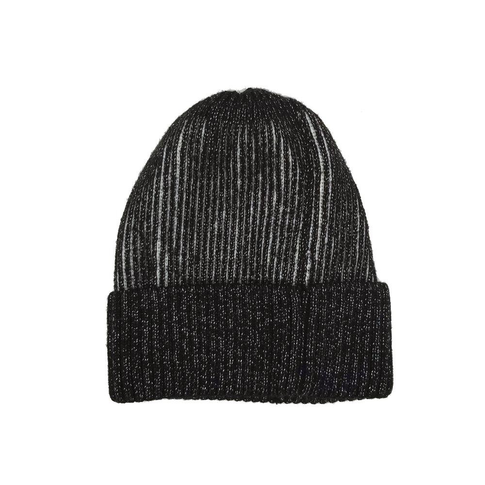 Ribbed Lurex Knit Hat Winter Hat Manière