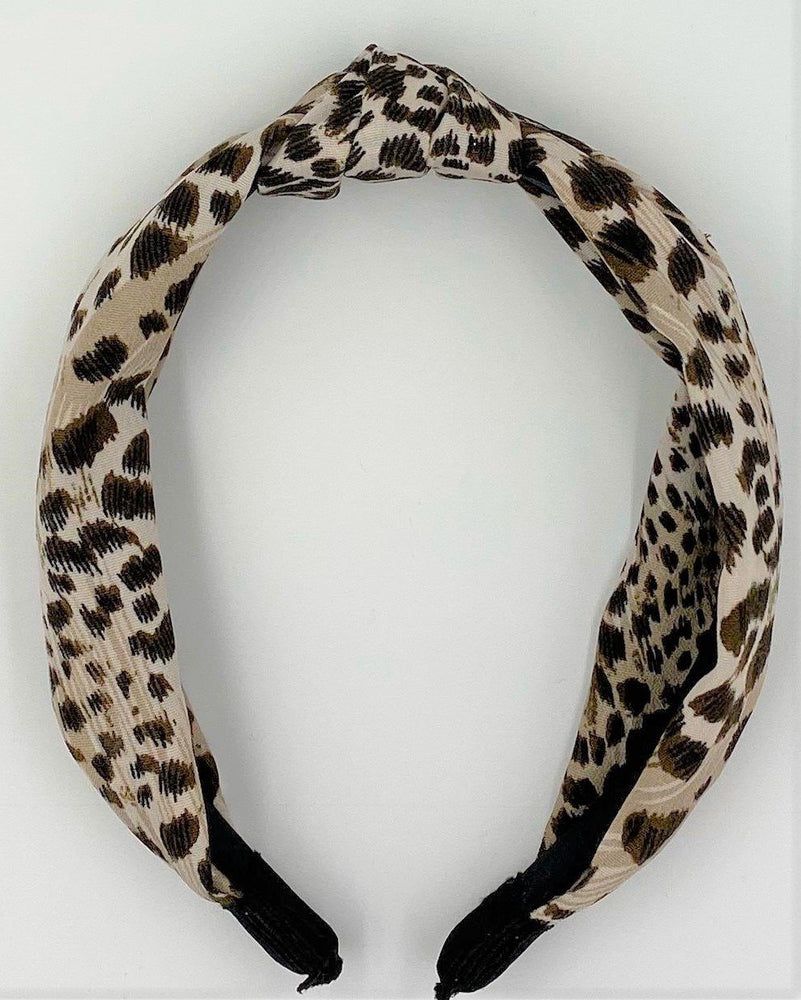 Animal Print KayKnot Headband Maniere Accessories Cheetah