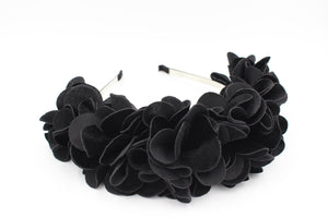 Load image into Gallery viewer, Wavy-Velvet-Wreath Headband Manière