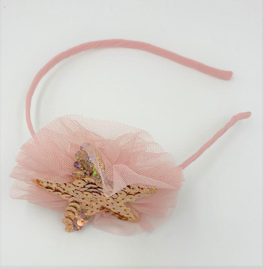 Tulle Star Headband Headband Maniere Accessories