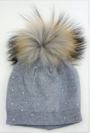 Sparkle Baby Winter Beanie Beanie Maniere Accessories Grey