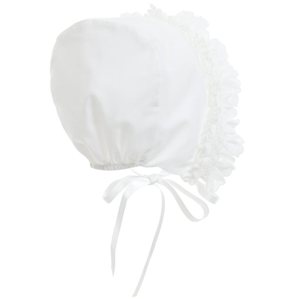 Load image into Gallery viewer, Smock Baby Bonnet Baby Bonnet Manière