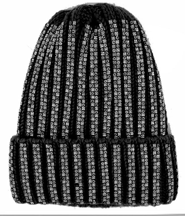 Load image into Gallery viewer, Baguette Stud (One Size Fits All) Winter Hat Manière