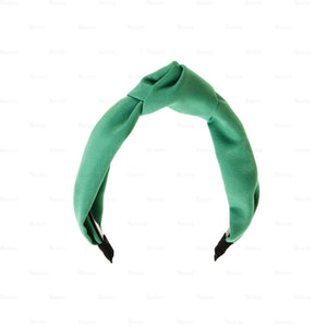 Load image into Gallery viewer, Cotton-Kay-Knot-Headband Headband Manière Mint Green