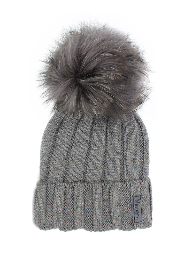 Ribbed Merino Wool Hat