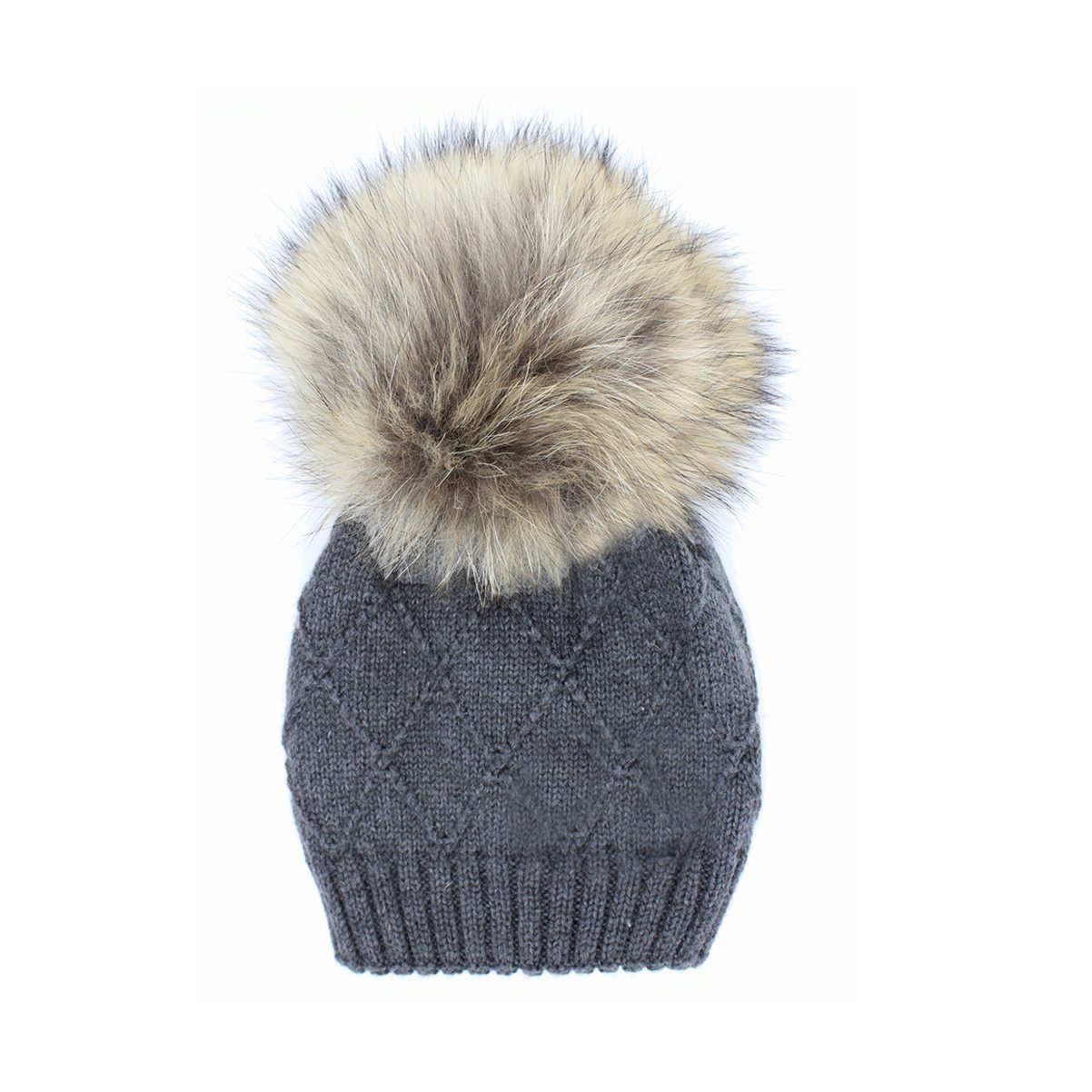 Chunky Knit Wool Hat