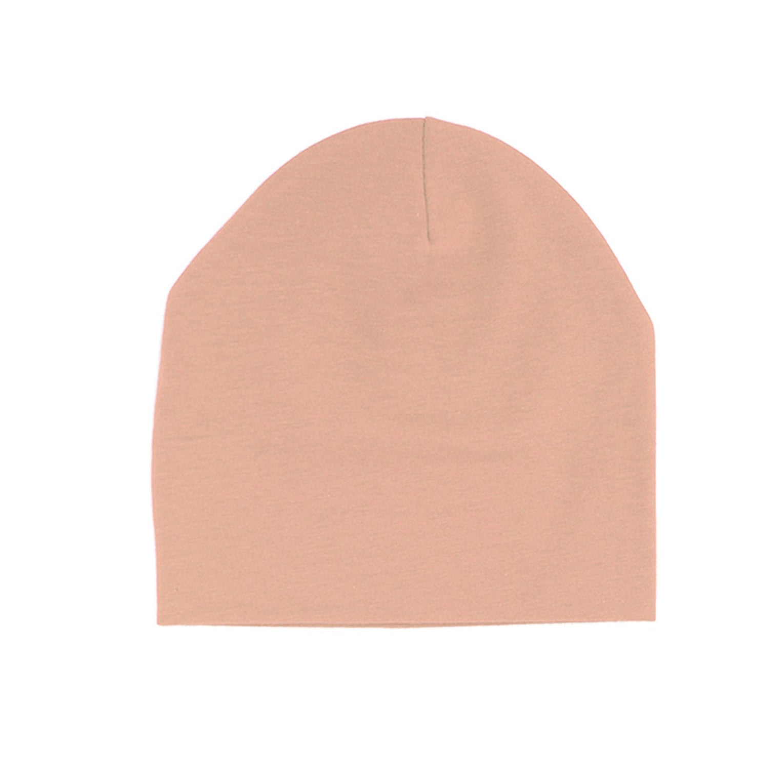 Cotton Henley Beanie Maniere Accessories Mauve 3 Month