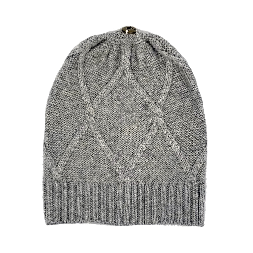 Diamond Lurex Knit Hat Winter Hat Manière