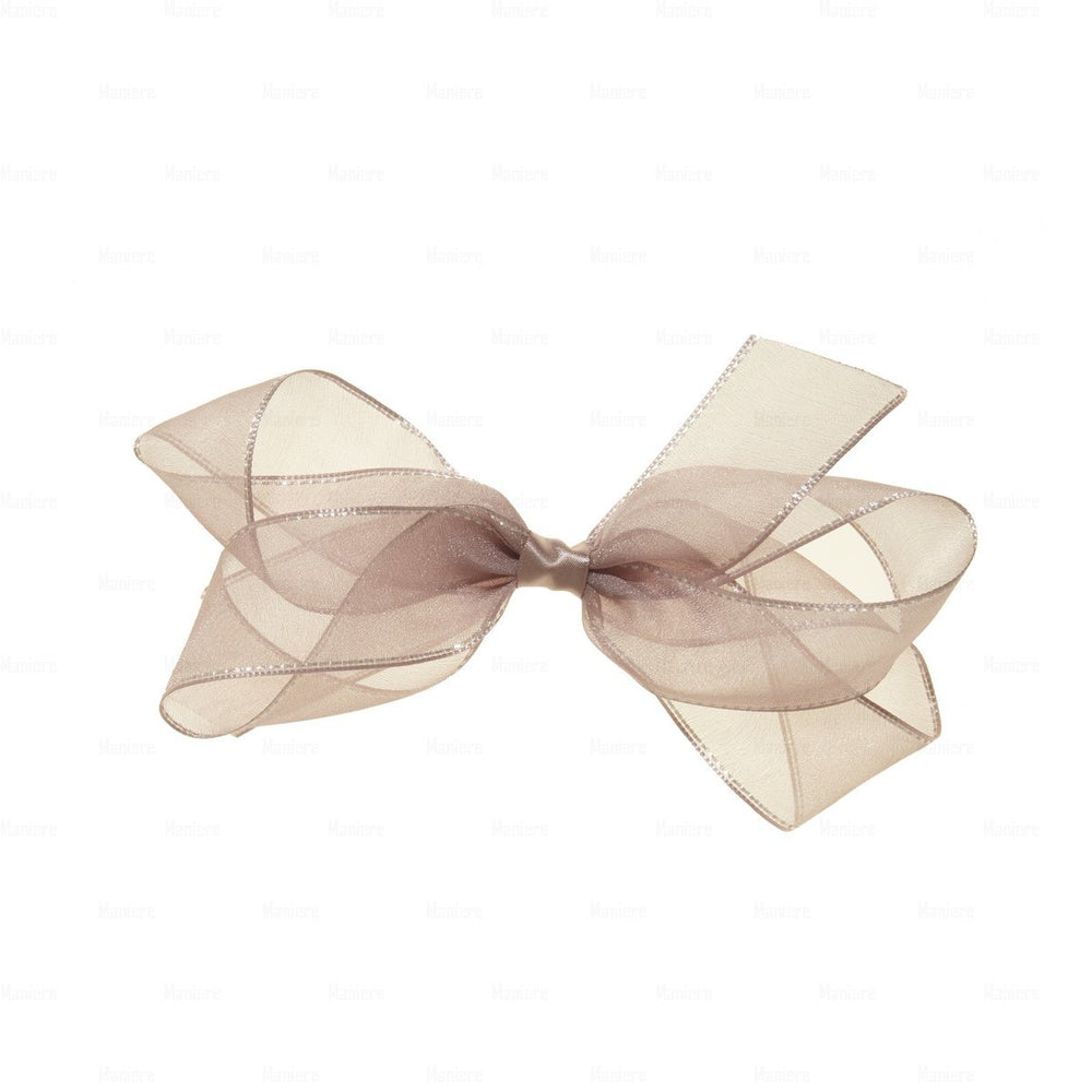 Elegant-Ribbon-Clip Hair Clip Manière Wine