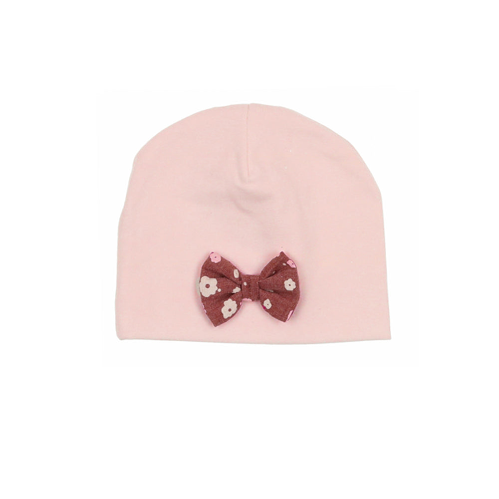 Load image into Gallery viewer, Floral Bow Beanie
