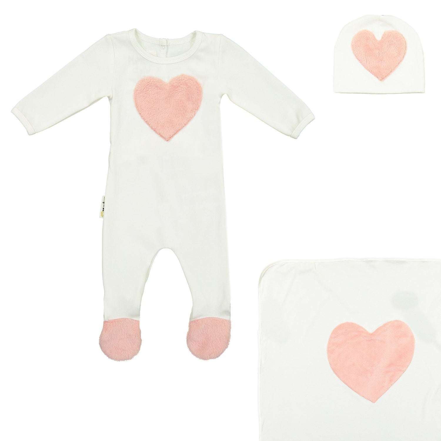Fur Patch Set Maniere Accessories 3 Months White
