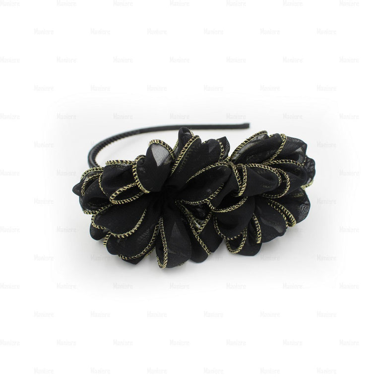 Gold-Edge-Flower-Headband
