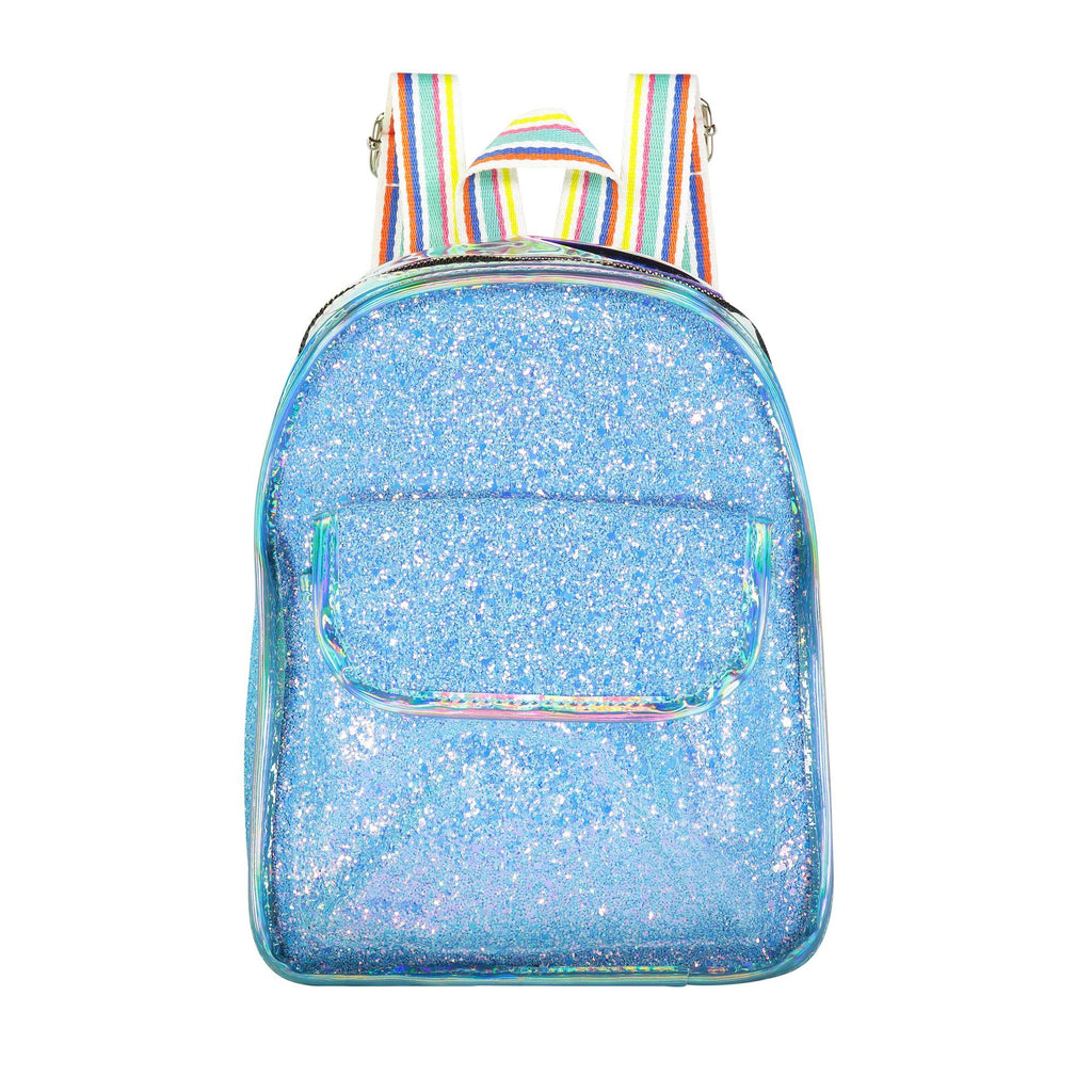 Glitter Mini Bag Bags Maniere Accessories Blue