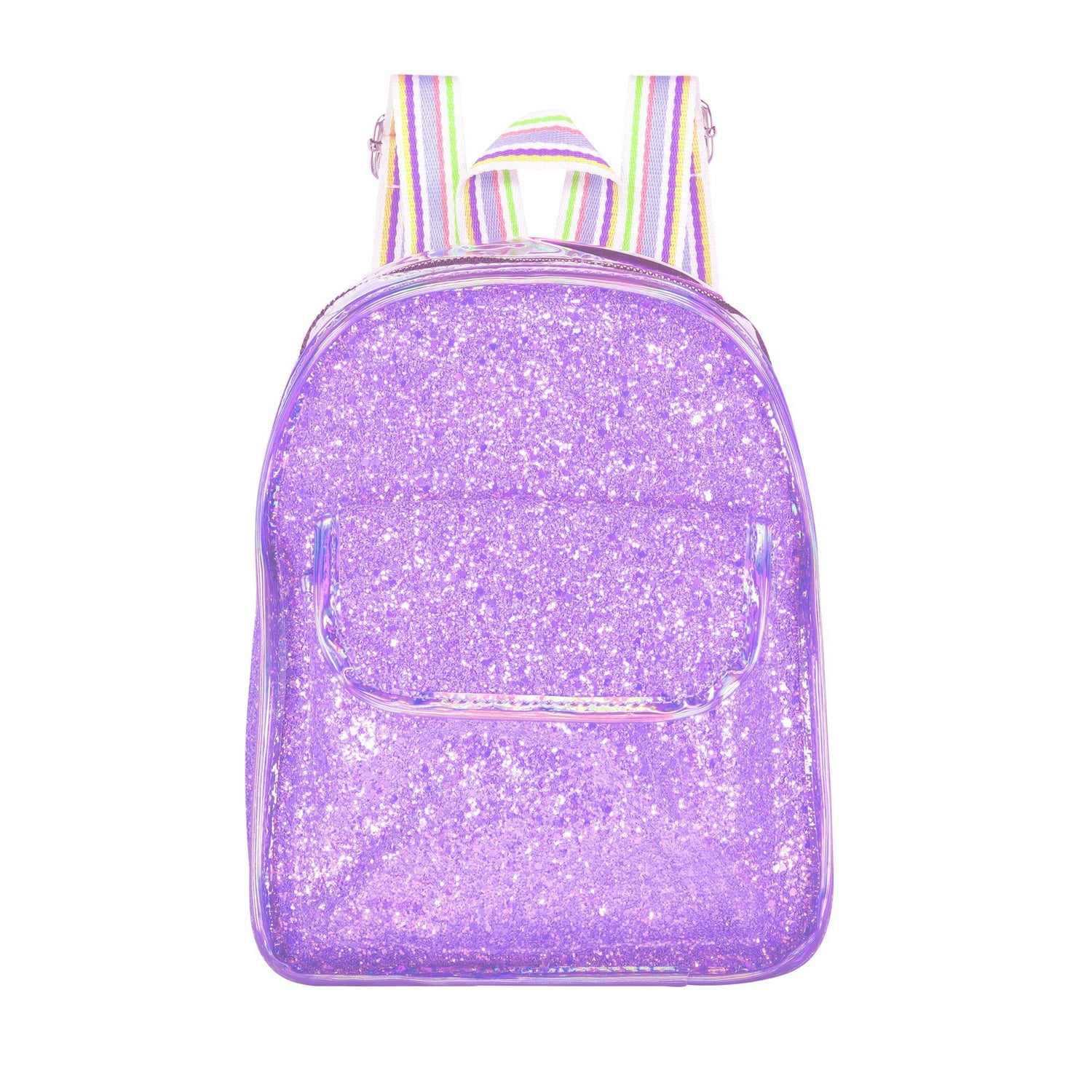 Glitter Mini Bag Bags Maniere Accessories Lavender