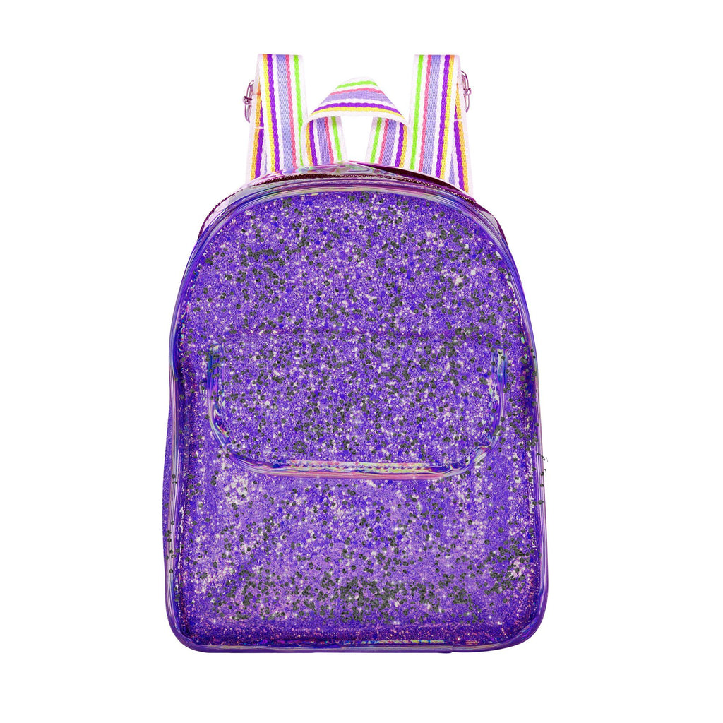 Glitter Mini Bag Bags Maniere Accessories Purple