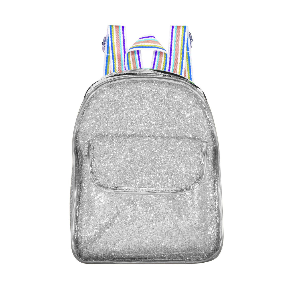 Glitter Mini Bag Bags Maniere Accessories Silver