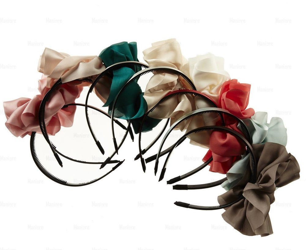 Hanging-Bow-Band Headband Manière