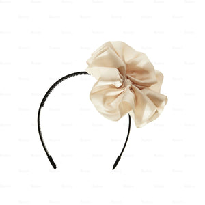 Load image into Gallery viewer, Hanging-Bow-Band Headband Manière Cream