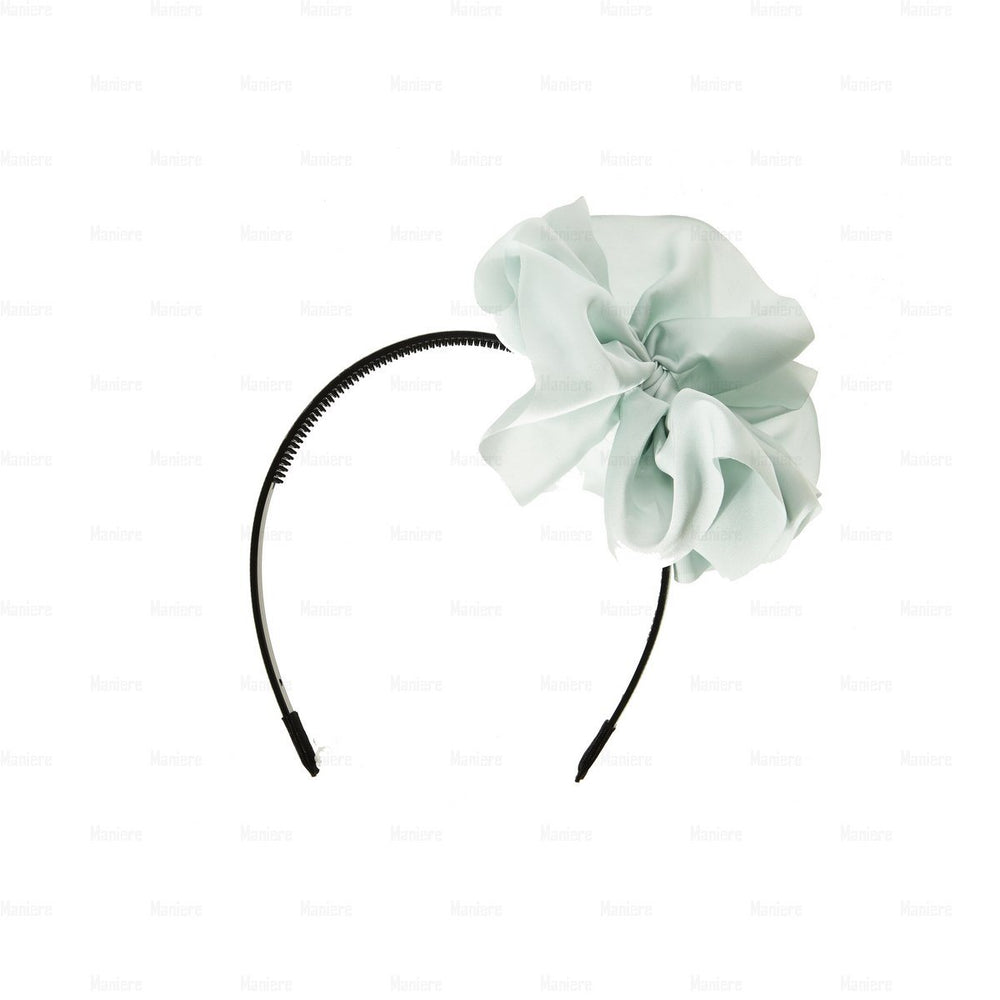 Hanging-Bow-Band Headband Manière Mint