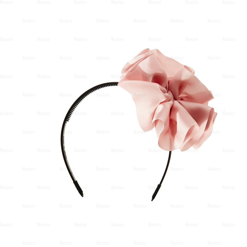 Hanging-Bow-Band Headband Manière Punch